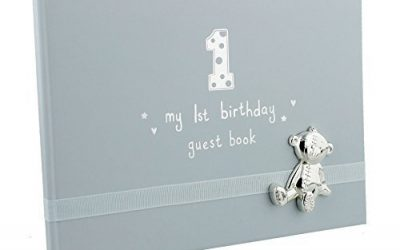 My Christening 6x 4 Button Corner PU Photo Album with Ribbon//Icon